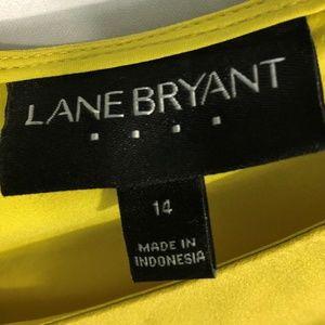Lane Bryant Tops - 💎 LANE BRYANT Laser Cut Swing Tank 14